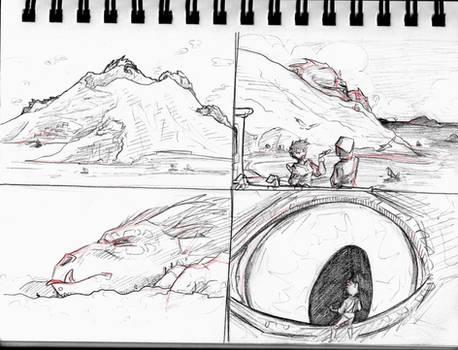 SKETCHBOOK Hecka Big Dragons 2