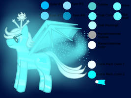 My Little Alien Pony: Comet Trail Light of Courage by Kendell2