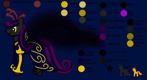 My Little Alien Pony: Black Star the Light Stealer by Kendell2