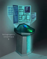 holographic interface by electricbill360