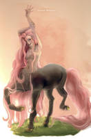 My character - The centaur of the forest by Itzel-Nahomy
