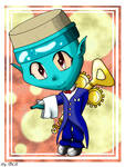 Chibi Sailor Sommelier by DarkColorBlood