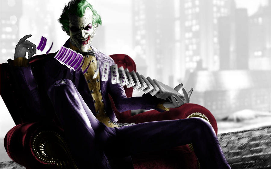 batman-arkham-city-color-couch-joker by ighor5