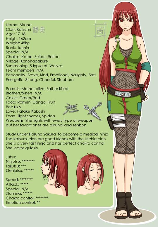 Akane - Naruto oc by Shinjuuki on DeviantArt
