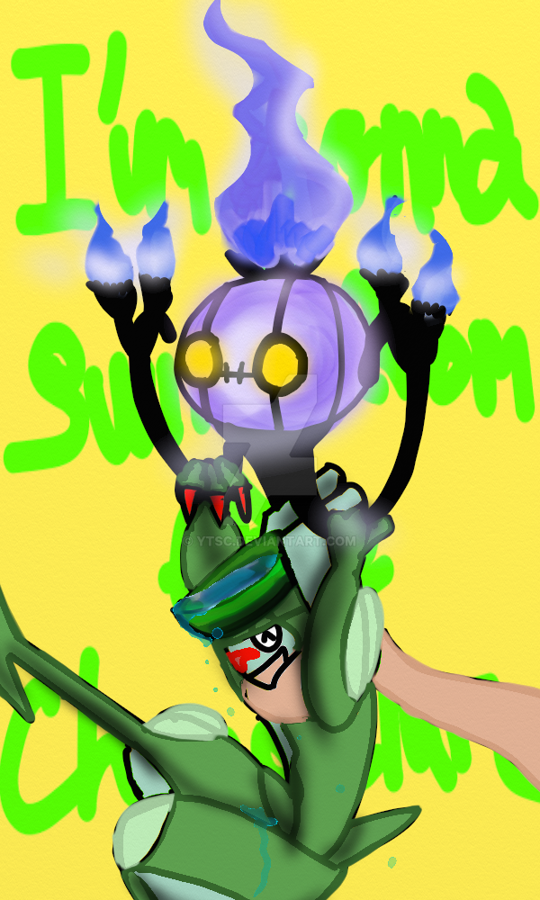 Im Gonna Swing from the Chandelure by YTSC