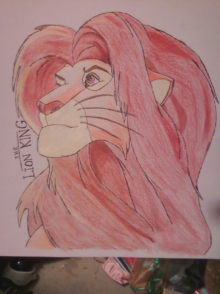 Lion King Simba -Finished- by ShellWolf