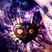 Majora's Mask by MySkittlesTasteEpic