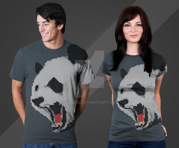 panda sweater pattern by ghozai