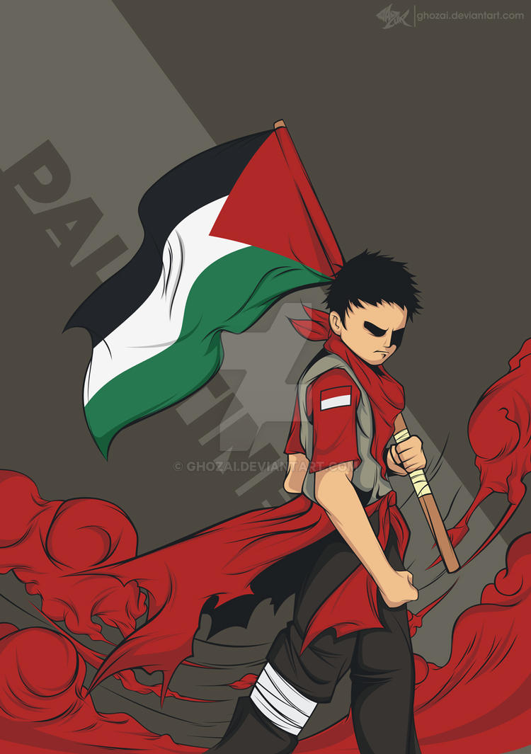 Raise The Flag Of Palestine By Ghozai On DeviantArt