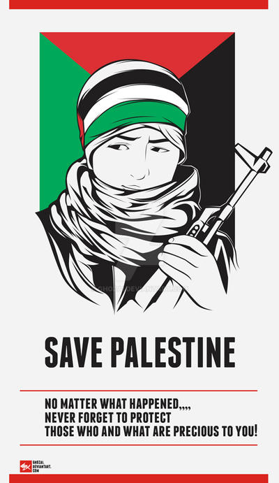 #savepalestine by ghozai