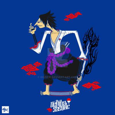 Sasuke Uchiha wayang by ghozai