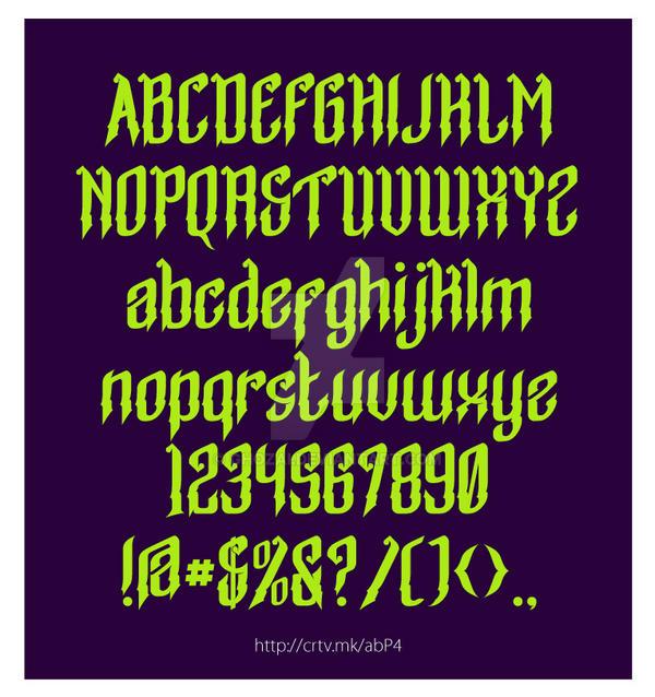 Parang Typeface by ghozai