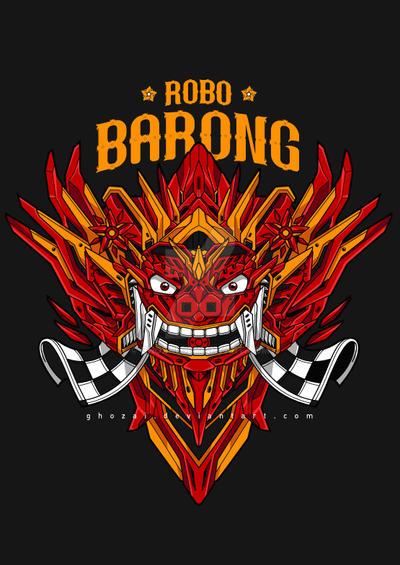 Robo Barong by ghozai