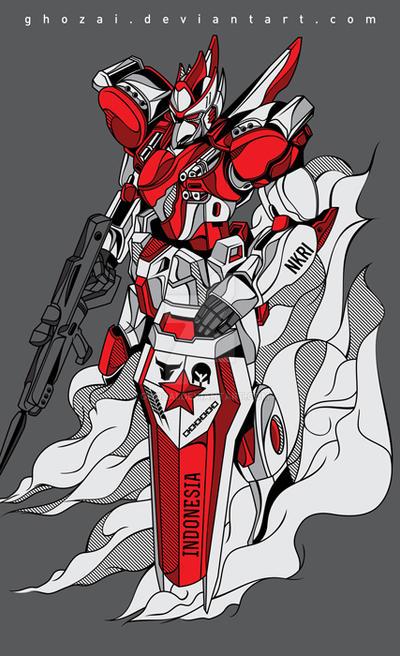 Gundam-nume by ghozai
