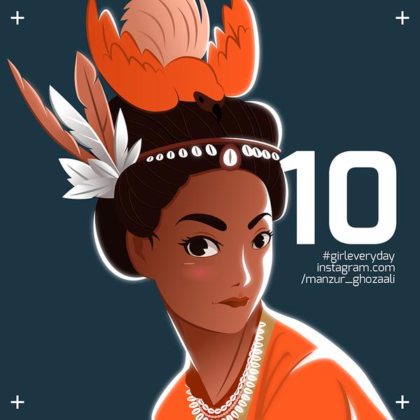 10 Biak Girl - Papua by ghozai