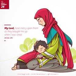 Al Isra : 24 by ghozai