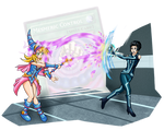Dark Magician Girl vs Quorra