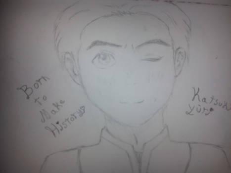 Yuuri on sketch