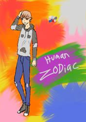 Art trade: Human! Zodiac for Slushieiscool360
