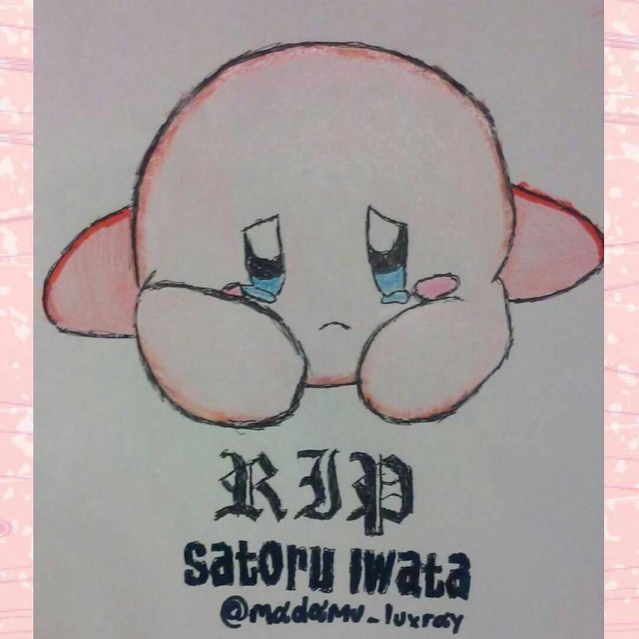 Sad Kirby by DarkusDialga