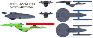 Excelsior-class  U.S.S. Avalon Orthos v2