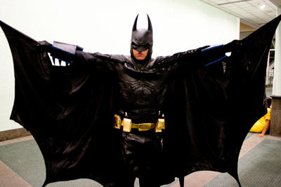 nananananananananananananananananaa! BAT-MAN!