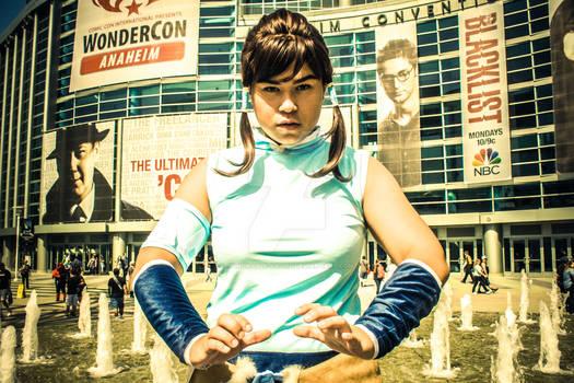Korra at WonderCon 2014