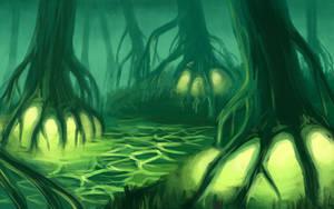 Poisonous swamp by Leliumoj