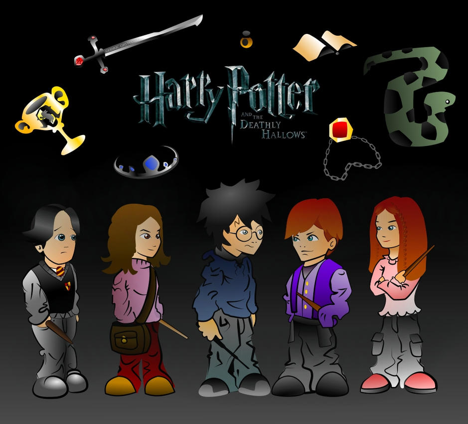 Harry Potter Group Mission by MakingPicsSlowly