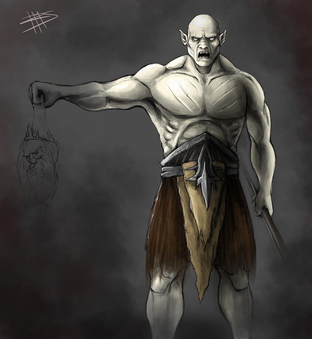 Azog the Defiler by MakingPicsSlowly