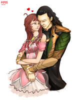 Point Commission: Loki and Piwy by MakingPicsSlowly