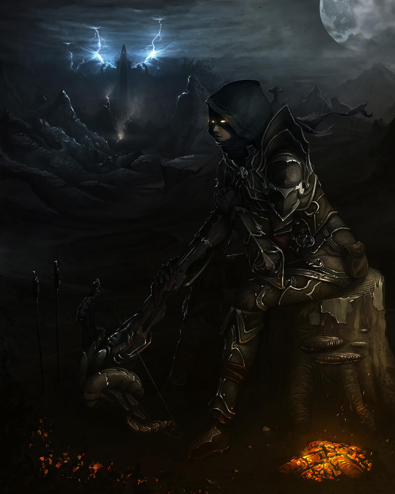Diablo III - Awaiting the Storm by MakingPicsSlowly