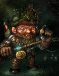 Gnome Shock Fisher
