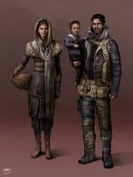 Apocalypse Family by MakingPicsSlowly