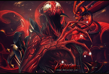 Venom the total carnage by FebiGD