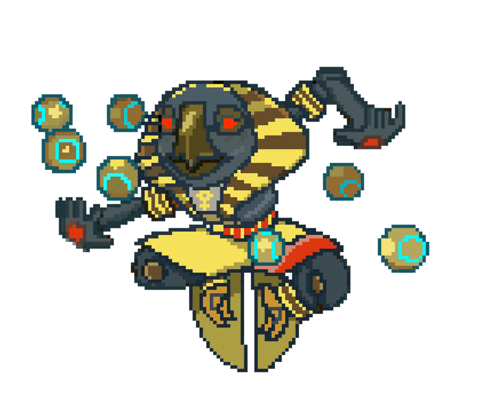 Superb Zenyatta Sunyatta Pixel Spray By Pakobird