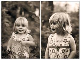 Little girl... by Treke
