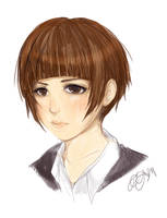 Tsunemori Akane by ectini