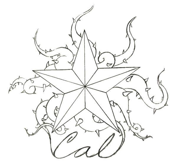 Viney Nautical Star by amaranths on deviantART