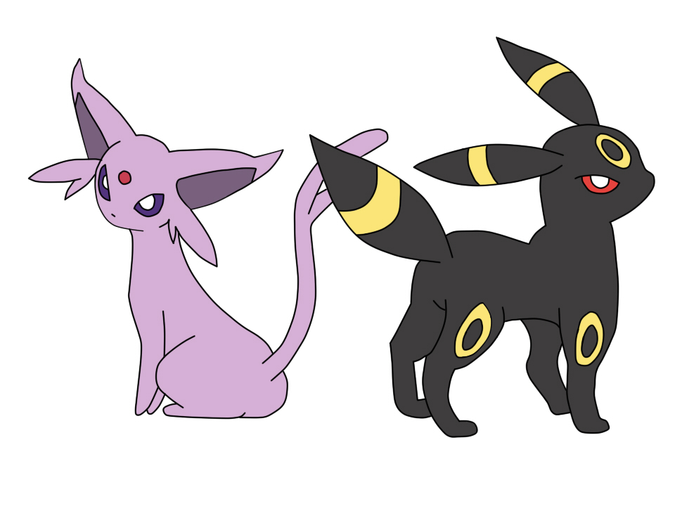 Pokemon Umbreon Vs Espeon Images | Pokemon Images