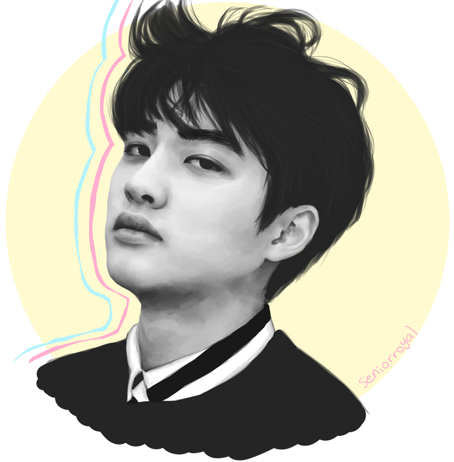 kyungsoo by seniorroyal on DeviantArt