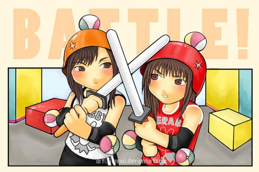 Minako VS Rei