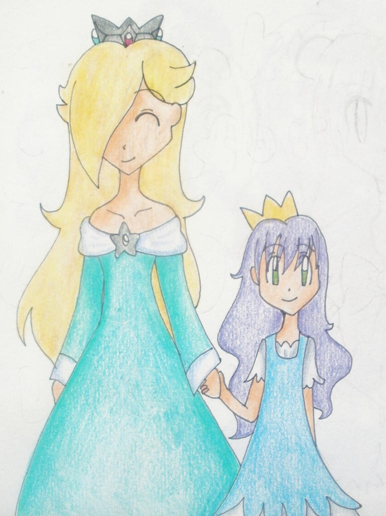 Rosalina and Lila by luigipony