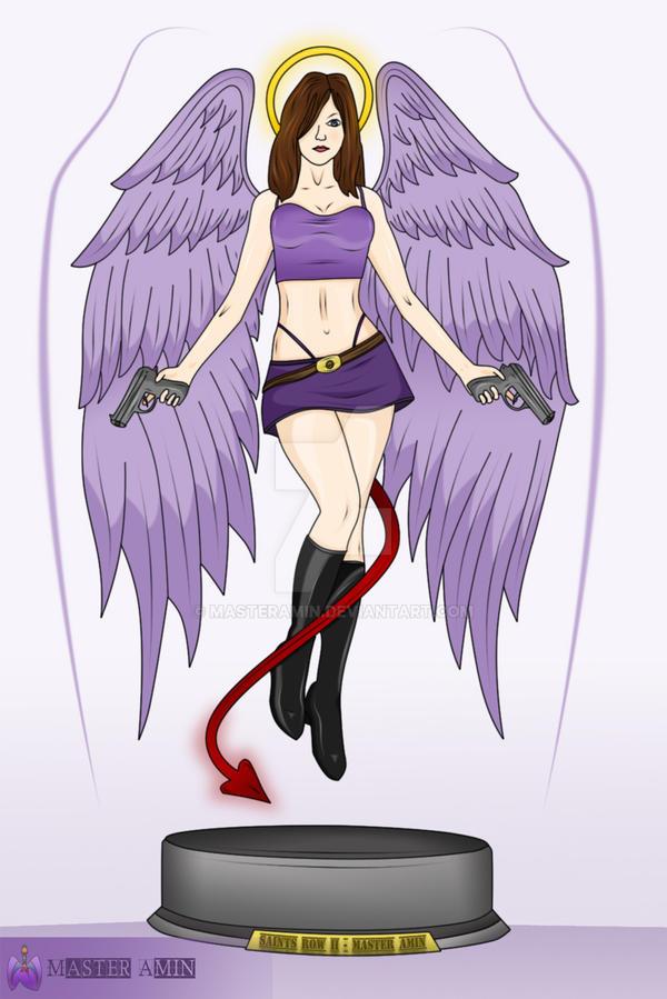 Angel Saints Row Ii By Masteramin On Deviantart