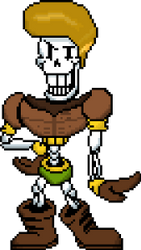MG!Papyrus V2 Sprite