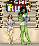 She-Hulk line up
