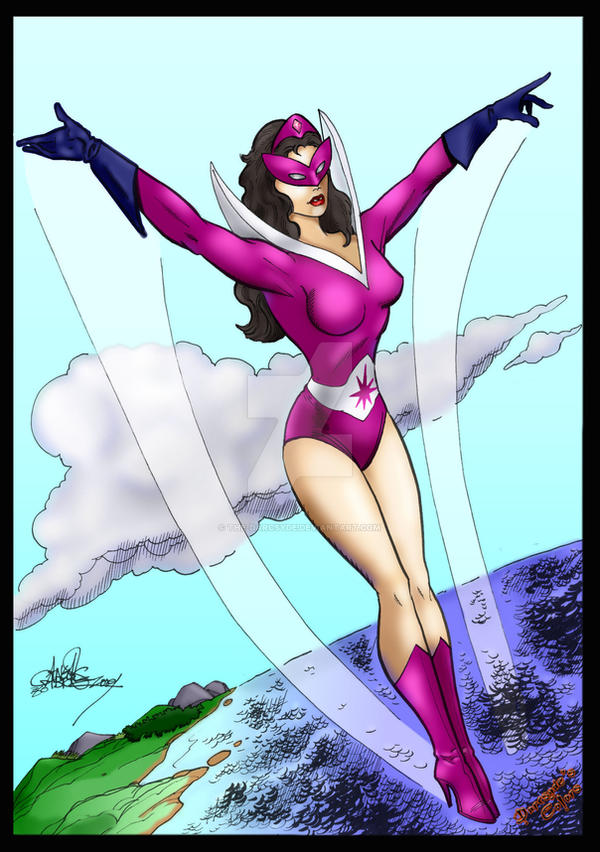 Star Sapphire- Angel Gabriele by THE-Darcsyde