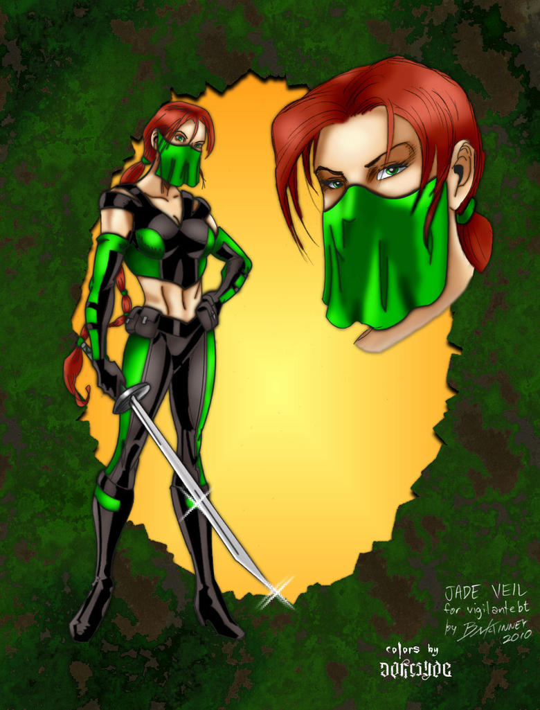 Jade Veil by B-McKinney by THE-Darcsyde