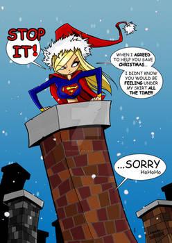 SuperGirl Saves Xmas- TheBoo