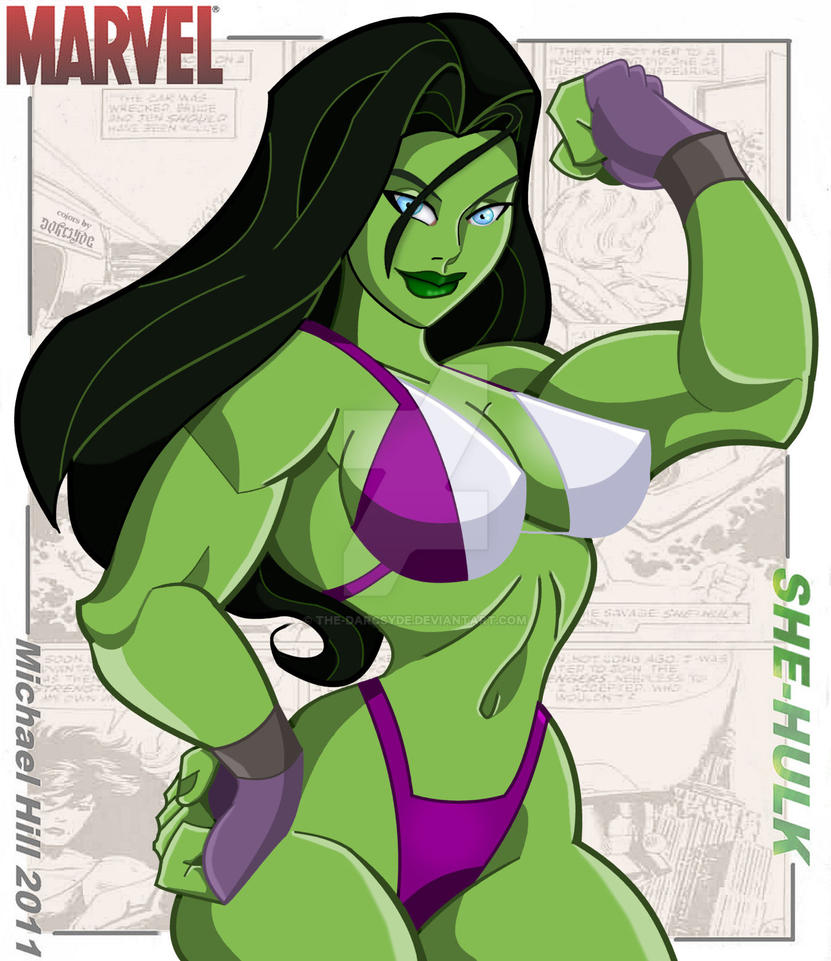 She-Hulk by Icemaxx 1 by THE-Darcsyde